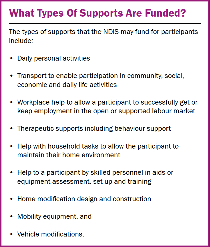 NDIS information sheet