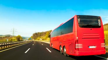 tourist-bus-asphalt-freeway-road-beautiful-spring-day-countryside