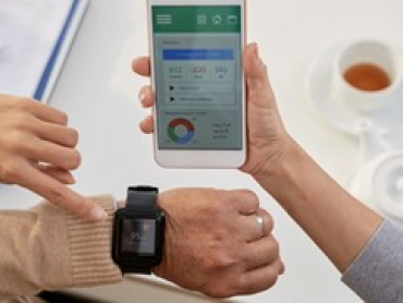 using a smart watch to monitor health