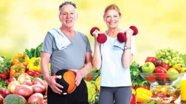 Seniors healthy life