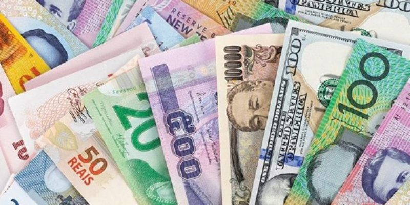 Various Types of Money from different countries