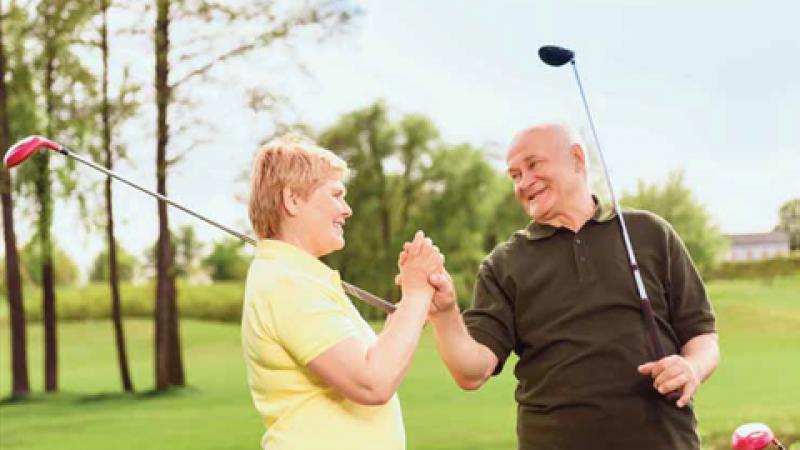Golfing For Seniors