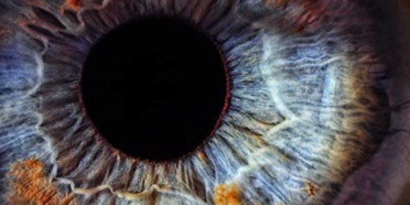 Close up image of an eye
