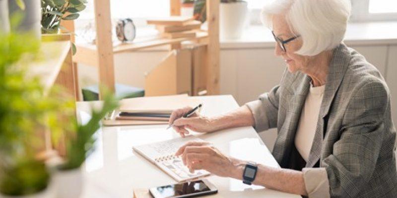 Senior calculating